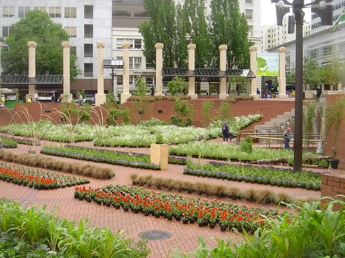 Pioneer Courthouse Square Garden Show