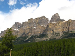 I climbed this mountain....! (Debi123 (taking a break)) Tags: cloudy hiking ok banffnationalpark castlemountain dontgiveup 23yearsago diamondclassphotographer flickrdiamond iamnotsureicoulddoittoday ourbiggesthikewasmtassinaboine althoughisatdownandcriedonthetrailfromsheerexhaustionandblisters imadeitthough wehikedsomewhereeveryweekend keepclimbing iamtalkingtomyselfthere