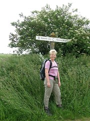 Sally on Peddars way