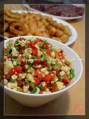Roasted Pepper and Corn Salsa