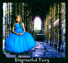 Disgruntled fairy (Sublyme14 Creations) Tags: portrait castle girl