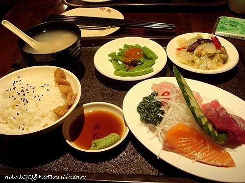 生魚片定食@喫飯食堂