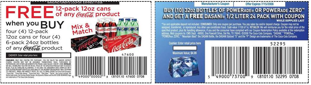 Diet coke coupons printable 2018