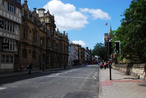 オックスフォードの町並み 4