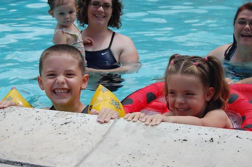 Swimmer Smiles
