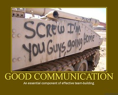 d communication (dmixo6) Tags: army corporate team funny motivator tank iraq group humour communication attitude despair motivation parody demotivator dialogue policy teambuilding personnel demotivation dugg dmixo6