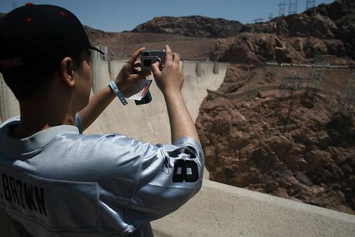 Selanne86 enjoying the views over Hoover Dam
