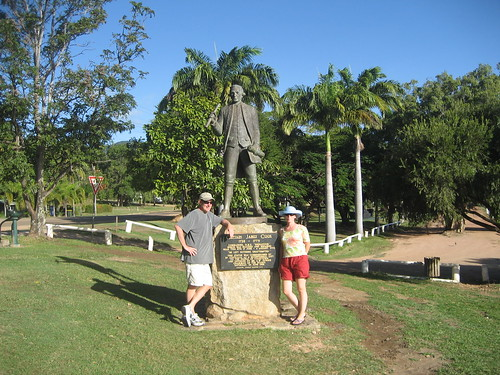 Cook statue Cooktown