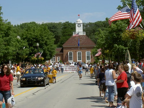 Geendale Village Hall on the 4th of July