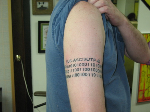 Tags: ??????????, armband, binary, binary armband tattoo