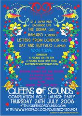 QOS compilation Launch Party 24th July!! Front