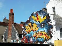 Grafittis Brighton. 01911 (javier1949) Tags: color graffiti brighton arte grafiti pintadas pintura artista graffitis reinounido callejero arteurbano callejeros colourartaward