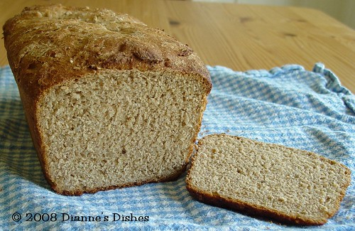 Whole Wheat Sunflower Seed Bread