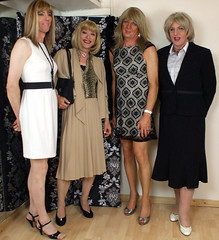 awesome 4some 1 (gillian .) Tags: tv cd transgender mature transvestite crossdresser ts tg pleats trannie adamneve