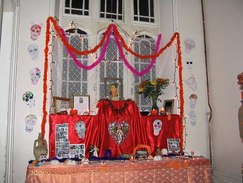 2003 Halloween altar