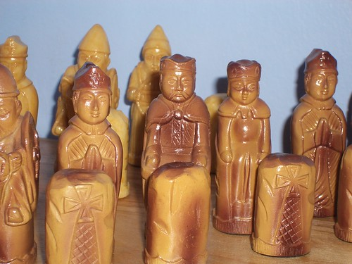 Irish chess set 1