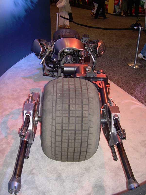Imagem Moto ou Batciclo do Batman