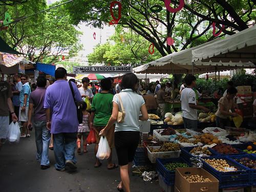 Salcedo Market - Human Traffic