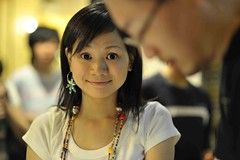 smiley (lozim3) Tags: street portrait cute girl face night asia pretty candid taiwan smiley taipei celebratinghumanity