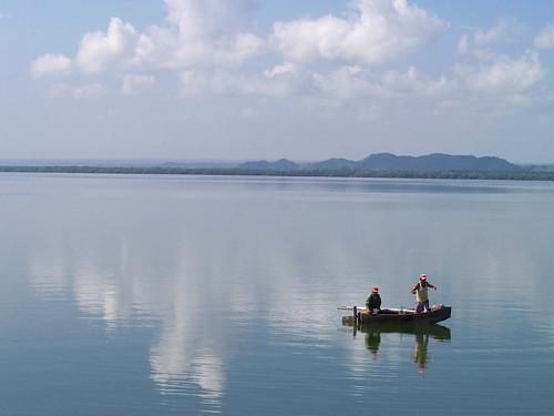 Pescando en aguas tranquilas