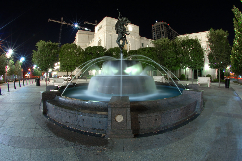 Schermerhorn Symphony Center Fountain