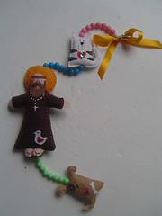 so francisco (pimpim salabim) Tags: francisco felt gato cachorro feltro so santo mbile