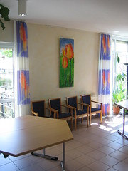 """Ausstellung, Guizetti-Park, Celle (Joachim Weigt) Tags: water painting acrylic canvas oil joachim acky acryl gemälde ölgemälde weigt acrylbilder ölbilder acrylgemälde """"joachim weigt"""""""
