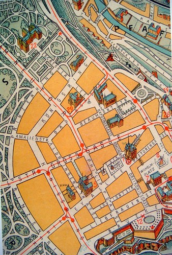 luxembourg map 1942
