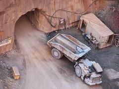 Big Truck (corrieb) Tags: mine entrance dumptruck corrie opencutmine openpitmine cobar newcobarmine fortburkehill