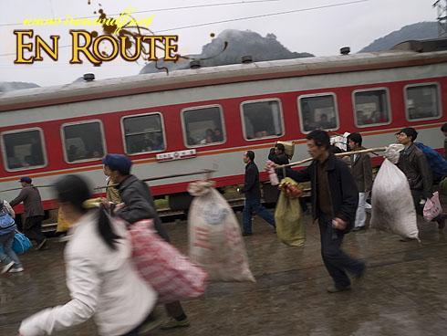 Tongren Train Rush
