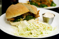 Cajun Seitan Burger
