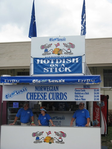 Hotdish on a Stick