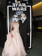 redandjonny (RedandJonny) Tags: wedding toronto star fan married expo stormtroopers geeks nerds wars fanexpo redandjonny satwars stormtroopersinlove fanexpo2008