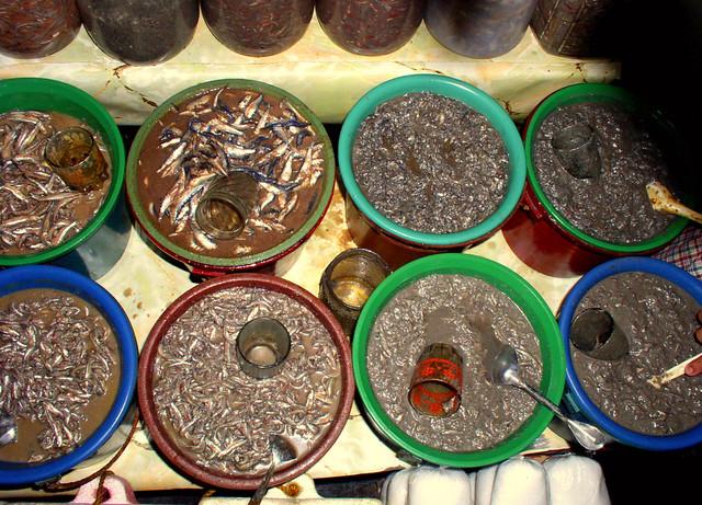 Ginamos fermented fish