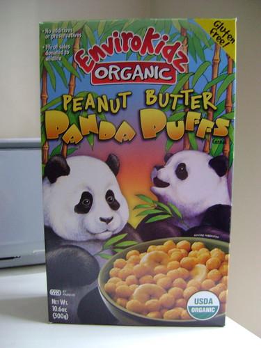 Envirokidz Organic peanut butter panda puffs
