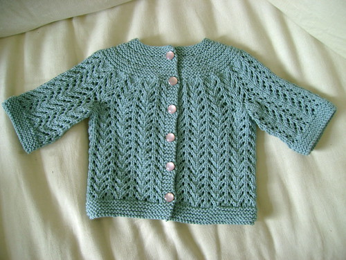 february baby sweater - complete!