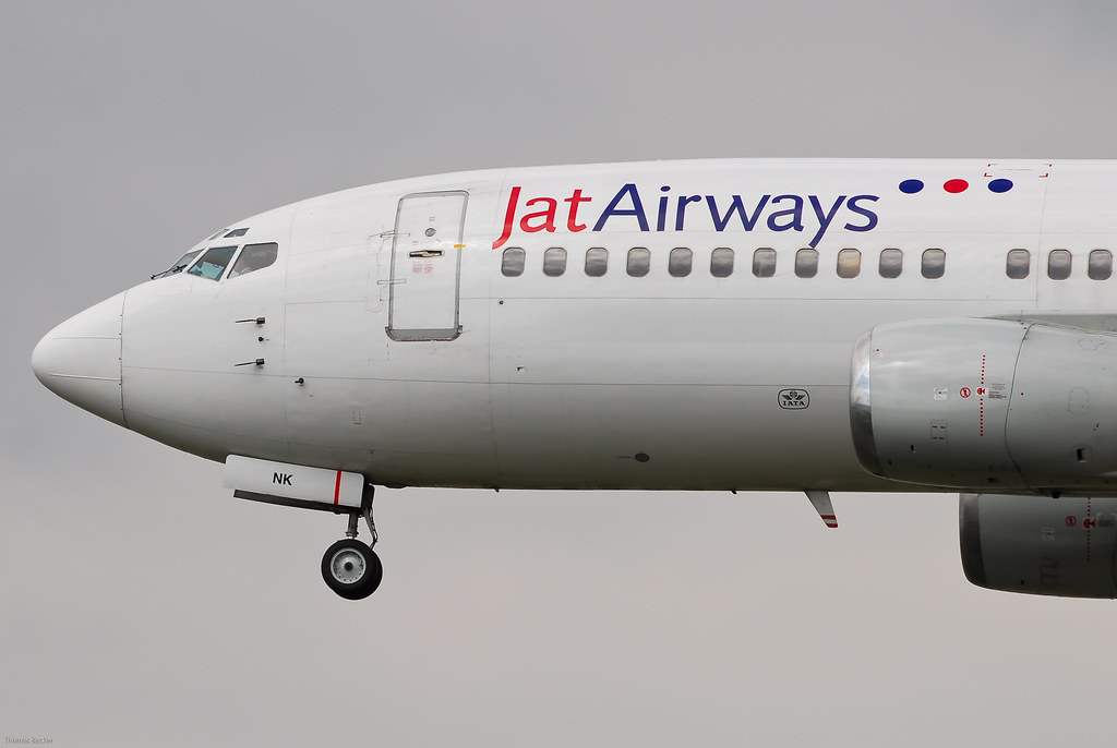 JAT Airways Boeing 737-3H9 YU-ANK (22823)