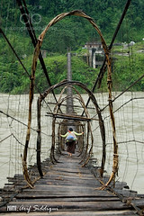 Nubo Bridge in Yingkiong (Arif Siddiqui) Tags: india nature landscape rainforest scenic hills northeast arunachal siang riverscape arunachalpradesh 5photosaday northeastindia yingkiong aalo pasighat arunachalpradeshindia arunachali