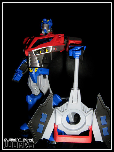 Animated Optimus Prime