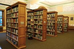 (nimariel) Tags: vermont books shelves fresco montpelier kellogghubbardlibrary est1894