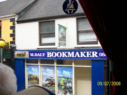 Ireland - Ring of Kerry Tour  - bookmaking is wide open
