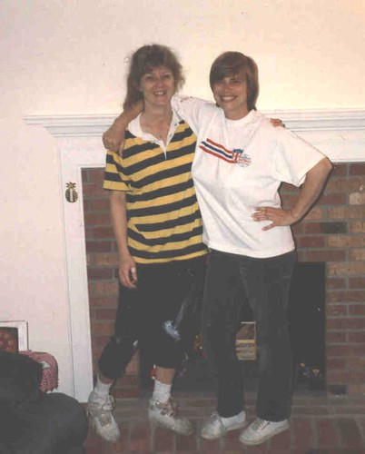 Lori and Rhonda 1994