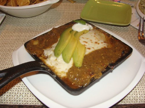Lobster Enchiladas with Tomatillo Sauce
