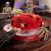 halloween creepy cake