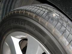 車子又爆胎拉, 可惡, 馬先生馬市長的台北市的路真爛 http://www.flickr.com/photos/anchime/2864396284/