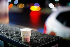 2130/1954:^z] (june1777) Tags: street light rain night canon eos 50mm bokeh snap 1600 clear f seoul 5d nikkor v10 f12 jongro 50mmf12ai bokehlicious