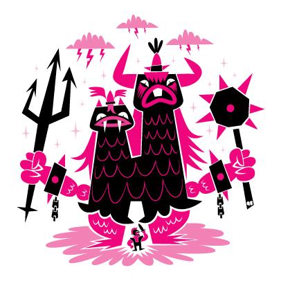 Robotsoda/tiypo H de horror