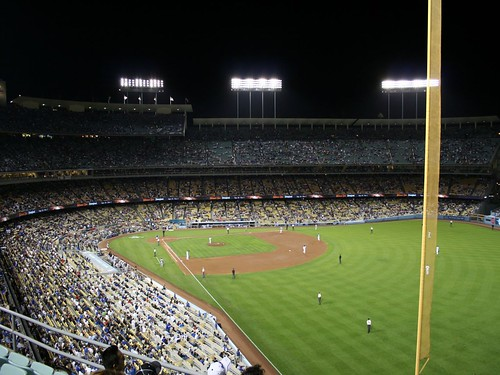 Dodger Stadium Sept 19 2008 by jondoeforty1.
