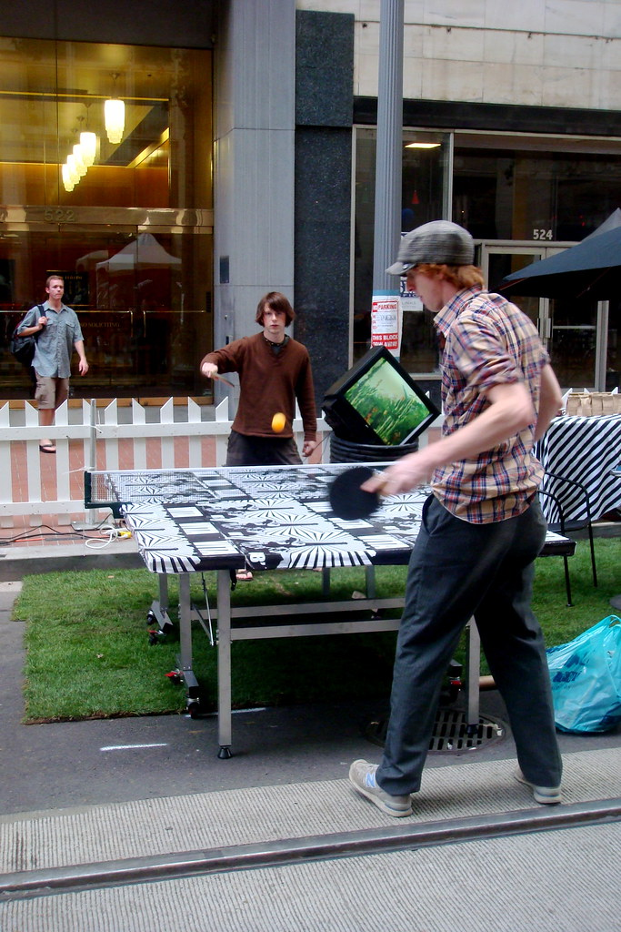 Park(ing) Day 2008 - Portland Oregon