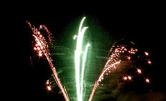 Green and Red Flares (EpicFireworks) Tags: light stars fireworks firework burst pyro 13g epic pyrotechnics ignition